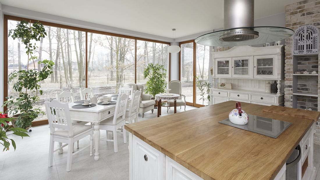 Hopkins Hamptons Style Kitchen