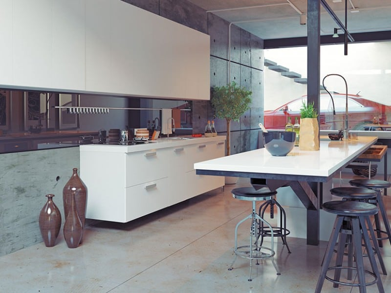 Thompson Contemporary Kitchen