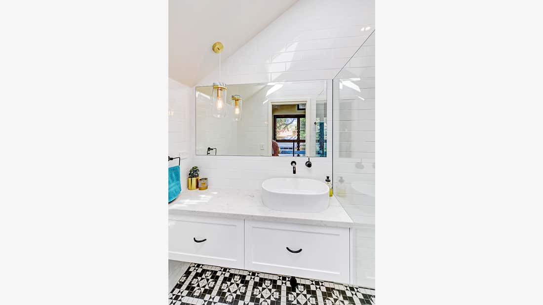 Hamptons Bathroom Design Marrickville NSW