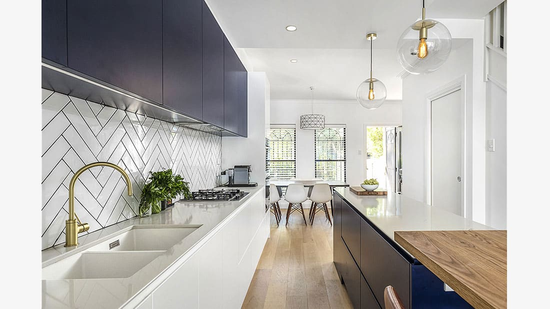 Contemporary Kitchen Design Alexandria NSW