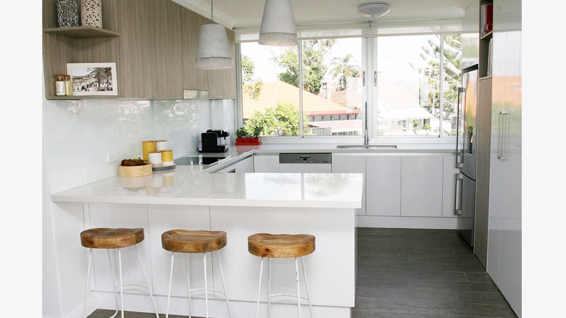 Contemporary Kitchen Design Manly NSW