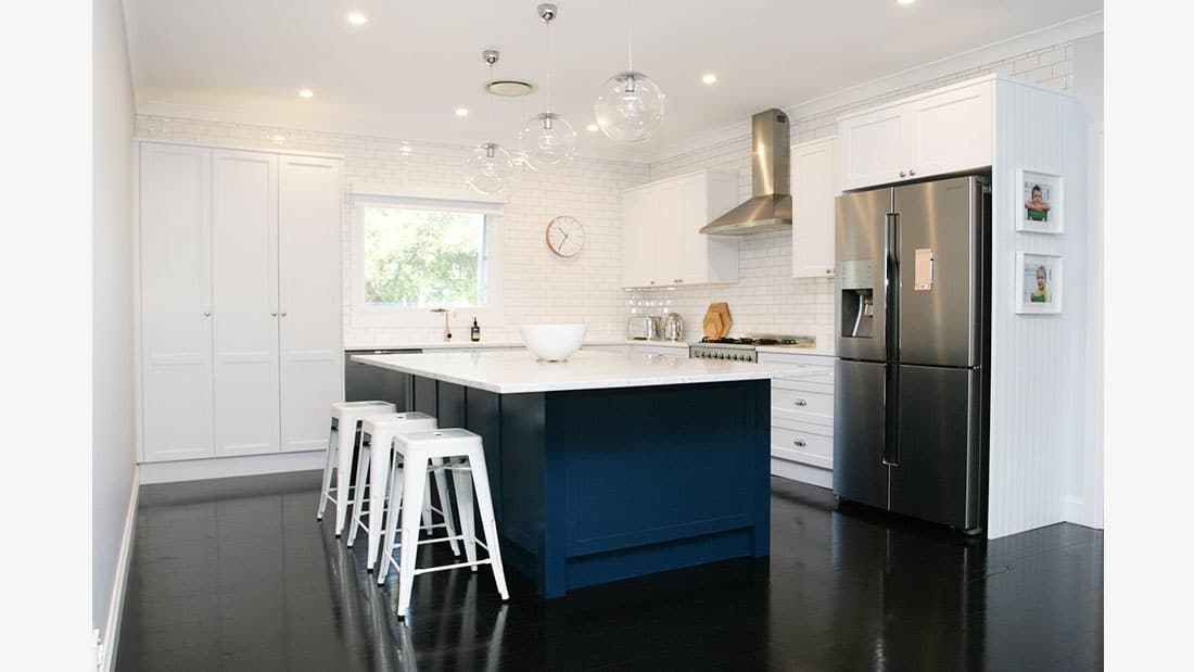Hamptons Kitchen Design Balgowlah Heights NSW