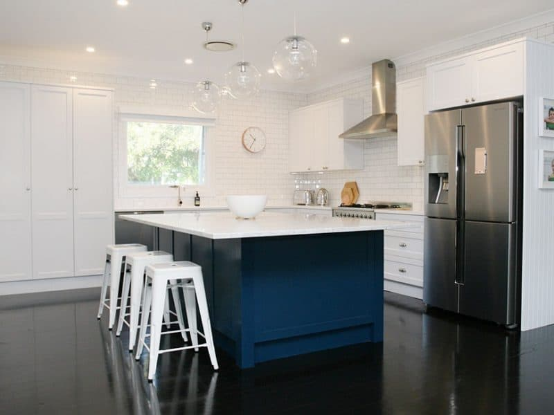 Hamptons Kitchen Design Balgowlah
