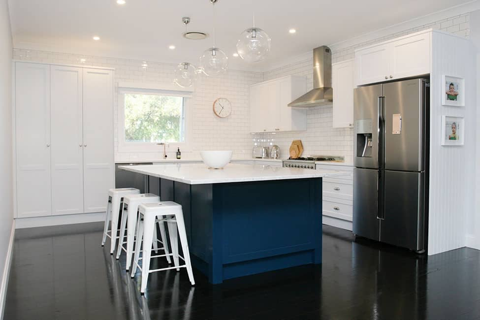 Hamptons Kitchen Design Balgowlah