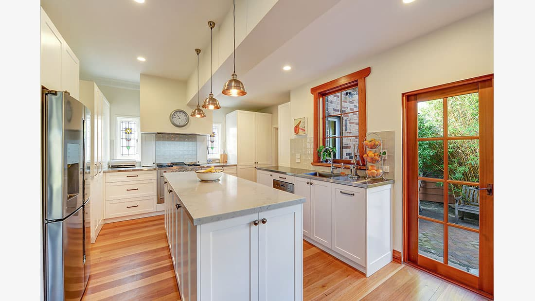 Hamptons Kitchen Design Kingsford NSW