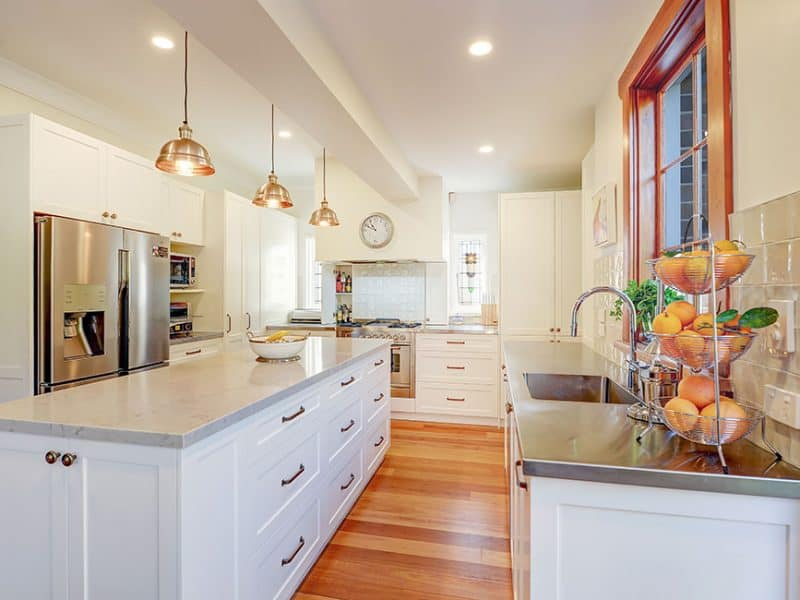 Hamptons Kitchen Design Kingsford