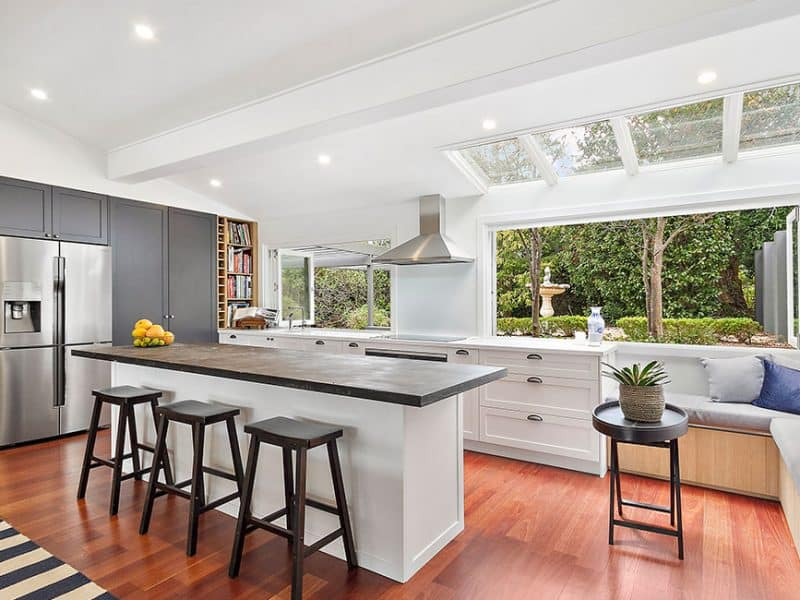 Hamptons Kitchen Design North Turramurra