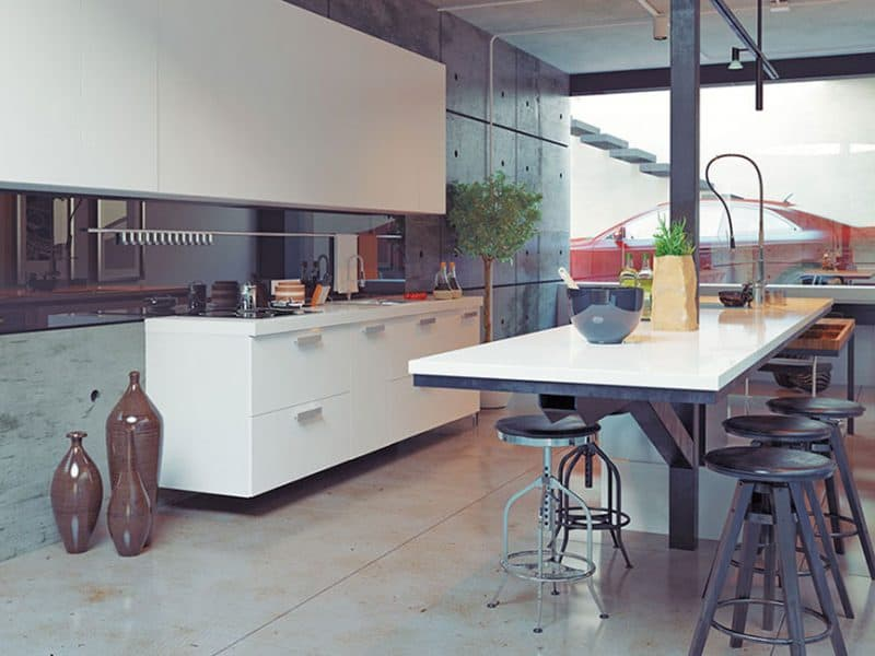 Thompson Contemporary Kitchen